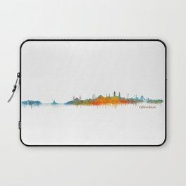 Istanbul City Skyline Hq v2 Laptop Sleeve