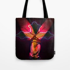 CECI EST MON SANG this is my blood Tote Bag