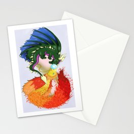The Dragon And The Phoenix Stationery Cards