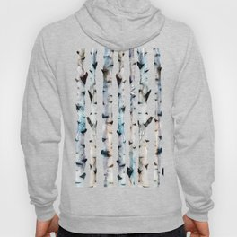 New Birch Trees Forest Hoody