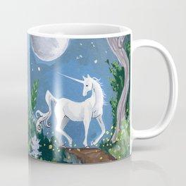 Moonlit Unicorn Coffee Mug