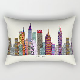 Atlanta city  Rectangular Pillow