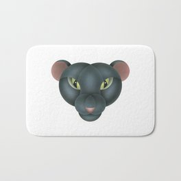 Compasses-panther Bath Mat