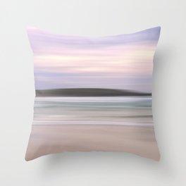 Hebridean Light Throw Pillow