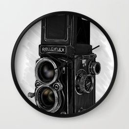 Roleiflex Wall Clock