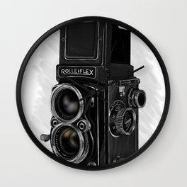 Roleiflex Wall Clock