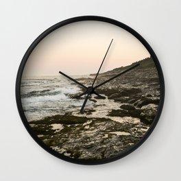 Maine Rocky Coast Wall Clock