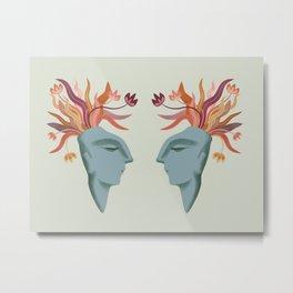 The Dreamer: Autumn Metal Print