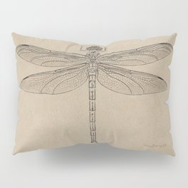 Dragonfly Fossil Dos Pillow Sham