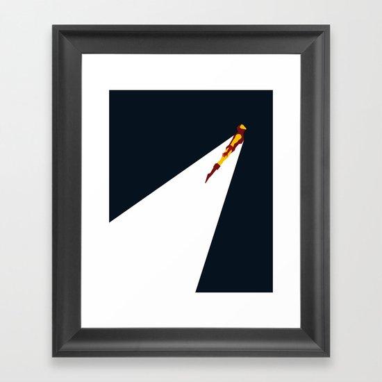 Basic Paper - Ironman Framed Art Print