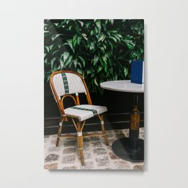 Paris Cafe Metal Print