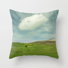 Rural beauty. Andalusia vintage Throw Pillow