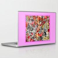nudes Laptop & iPad Skins featuring Vintage Male Nudes and Rafaella Carra by RAFONRAF