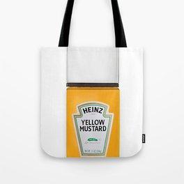 Mustard Nail Tote Bag