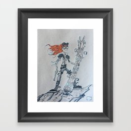 Mad Max Framed Art Print