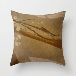 joelarmstrong_rust&gold_073 Throw Pillow