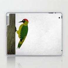 Green Woodpecker Laptop & iPad Skin