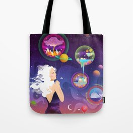 Wonderworlds Tote Bag