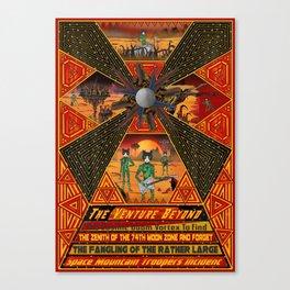 Cosmic Doom Vortex Canvas Print