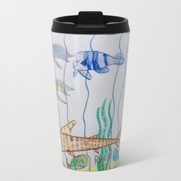 Leopard Shark & Friends Travel Mug