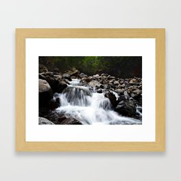 four waters of iao valley Framed Art Print