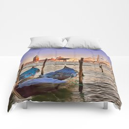 Capturing Venice Italy Comforters