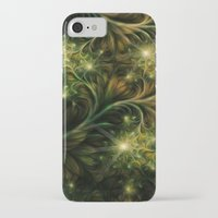 fireflies iPhone & iPod Cases featuring Fireflies by Happi Anarky
