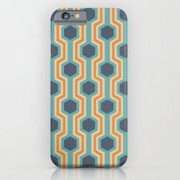 Retro-Delight - Humble Hexagons - Beach iPhone Case
