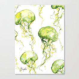 Jellyfish Pattern Canvas Print