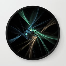 Fractal Convergence Wall Clock
