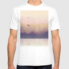Dreams MEDIUM White Mens Fitted Tee