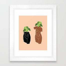 Planters in the Nude Framed Art Print