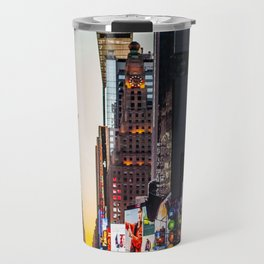 Times Square From Afar Travel Mug