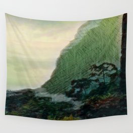 Mists In The Pitons: St. Lucia Wall Tapestry