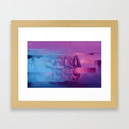 Black Rainbow Framed Art Print
