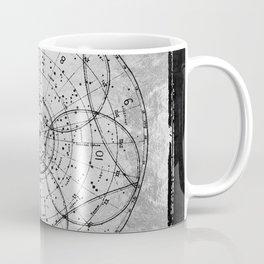 Old Metal 1880 sky map Coffee Mug