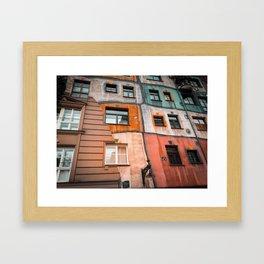 Hundertwasser 3 Framed Art Print
