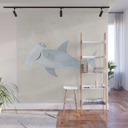 Hammerhead Shark Wall Mural