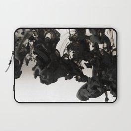 Ink #abstract #black Laptop Sleeve