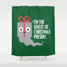 The Spirit of Giving Shower Curtain