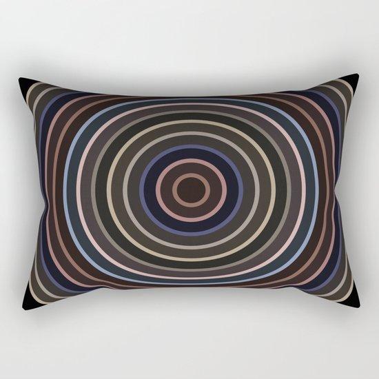 Colorful circle IV Rectangular Pillow