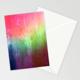 Visitor - colorful distressed abstract Stationery Cards