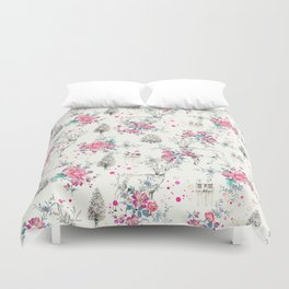 Deer pattern Duvet Cover