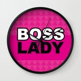 Boss Lady - Laura Wayne Design Wall Clock