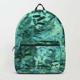 Pantone Green Confetti Backpack
