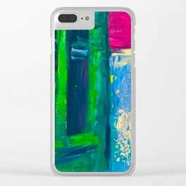 Parisien Rue Clear iPhone Case
