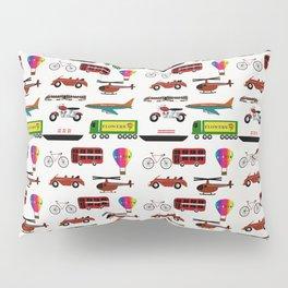 Planes, Trains and Automobiles Pillow Sham
