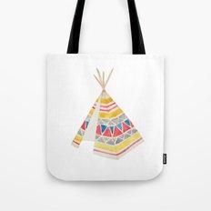 Tepee Tote Bag