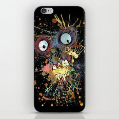 shocked in reverse iPhone & iPod Skin