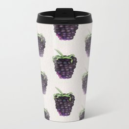 Blackberries Metal Travel Mug